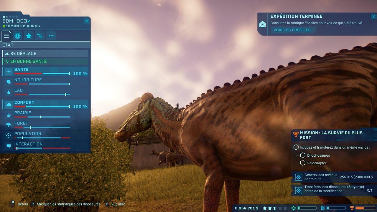 Edmontausaurus Jurassic World Evolution